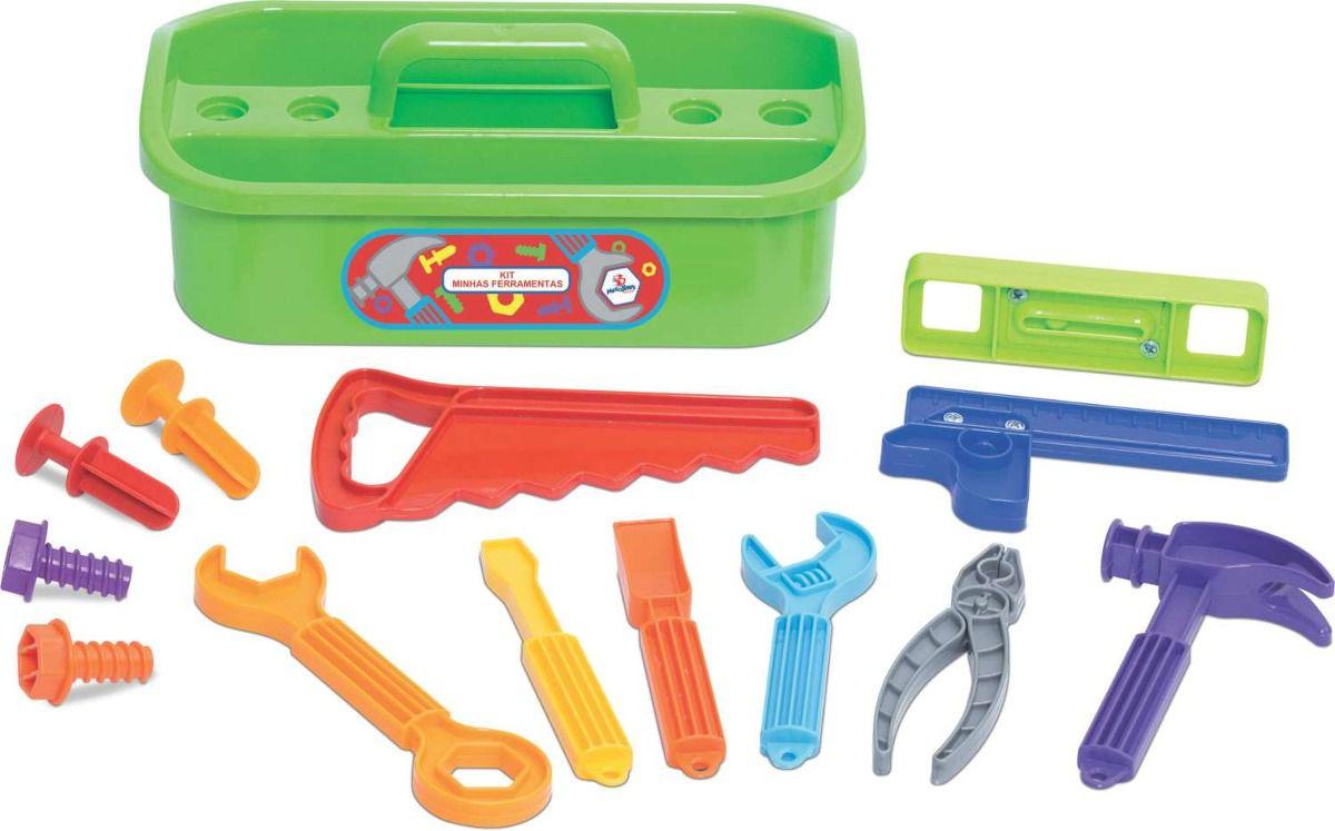 Brincando de Profissões Maleta Minhas Ferramentas Merco Toys