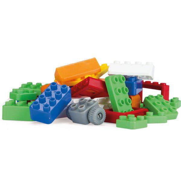 Brinquedo Blocos De Montar Block Legal 44 Peças Homeplay
