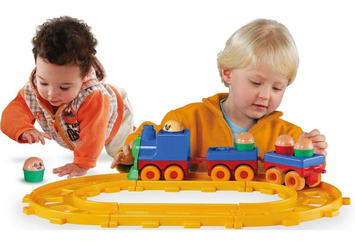 Brinquedo Educativo Bobby Trem Dismat