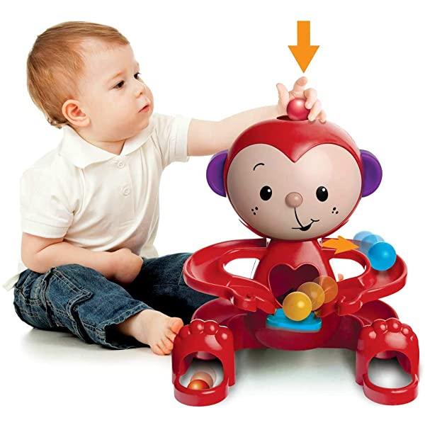 Brinquedo Infantil Boneco Zuquinha Escorrega Bolinha Elka