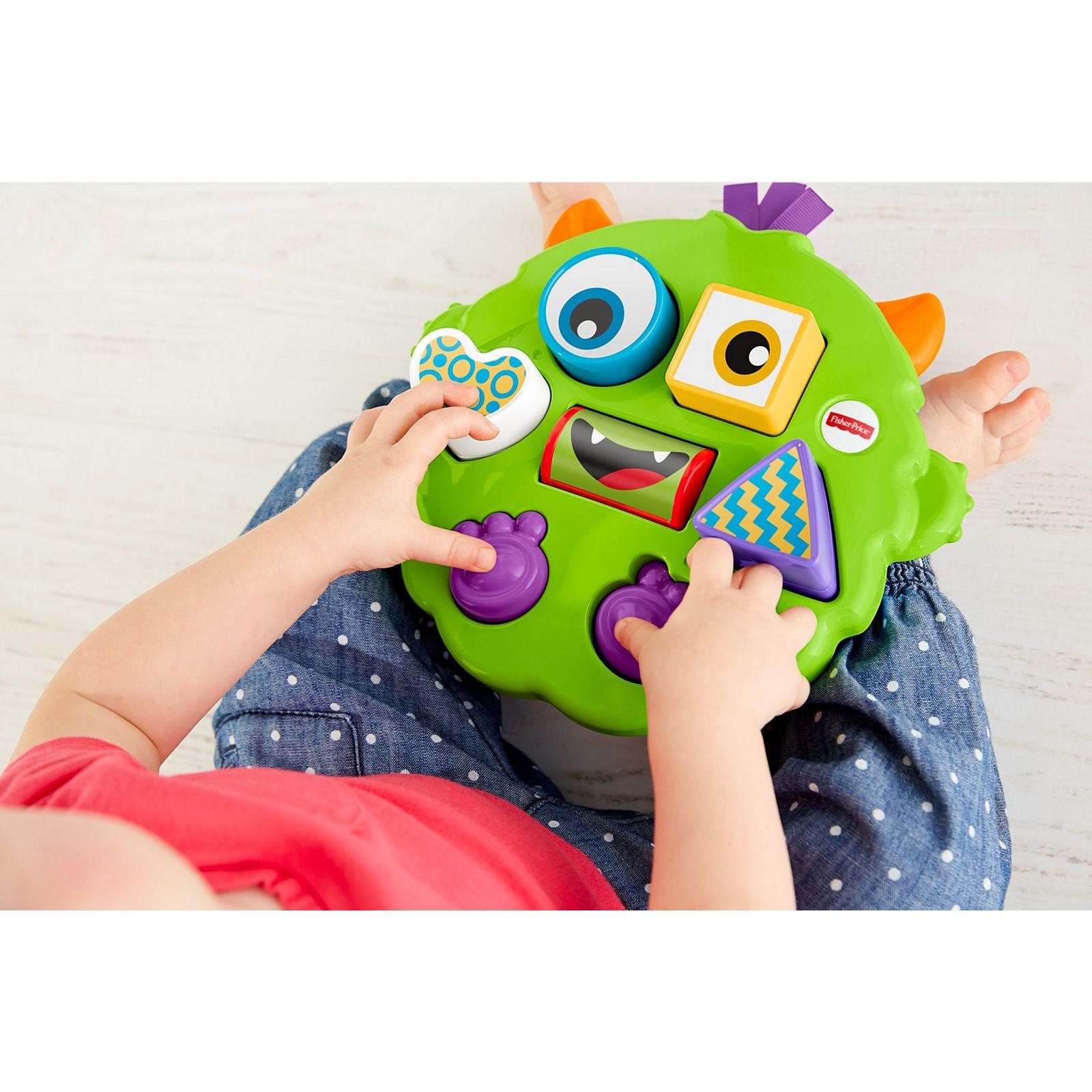 Brinquedo Monstro Quebra Cabeça Fisher Price