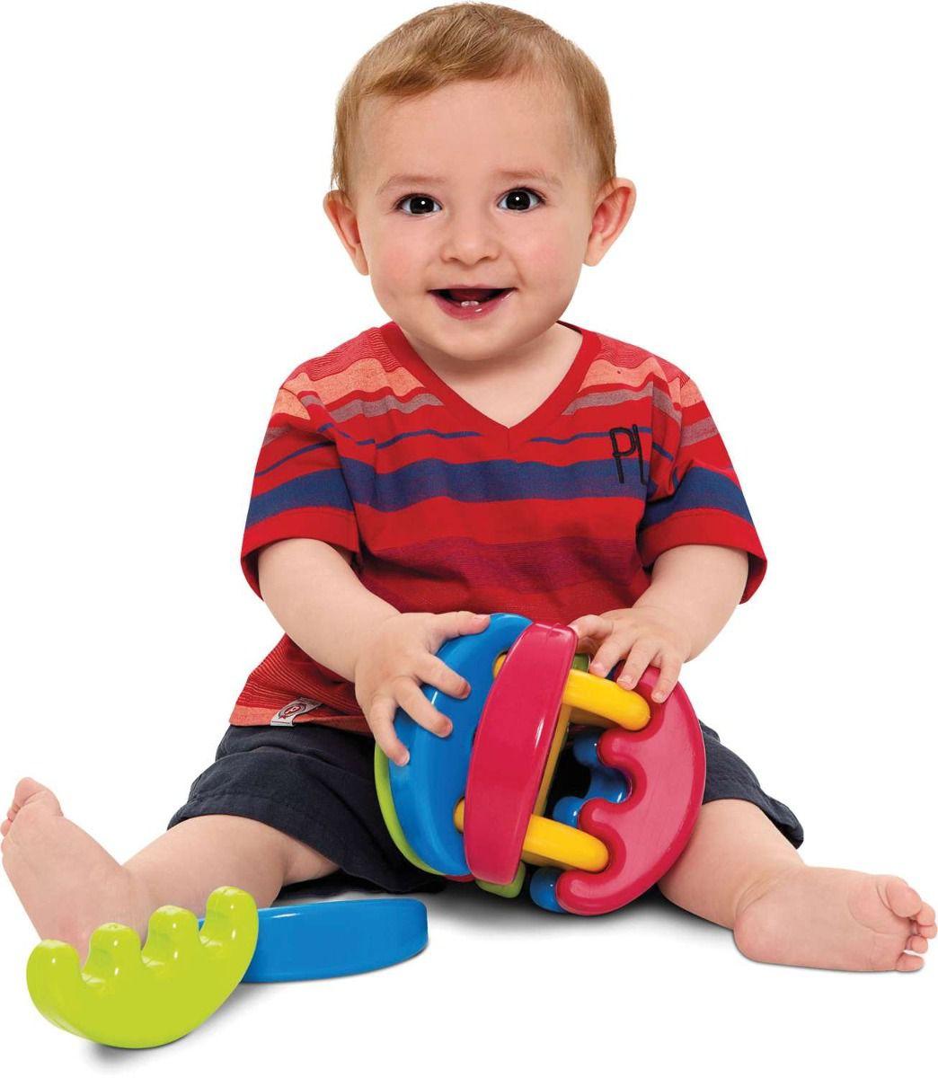 Brinquedo para Bebe Baby Gomos Sortidos Merco Toys