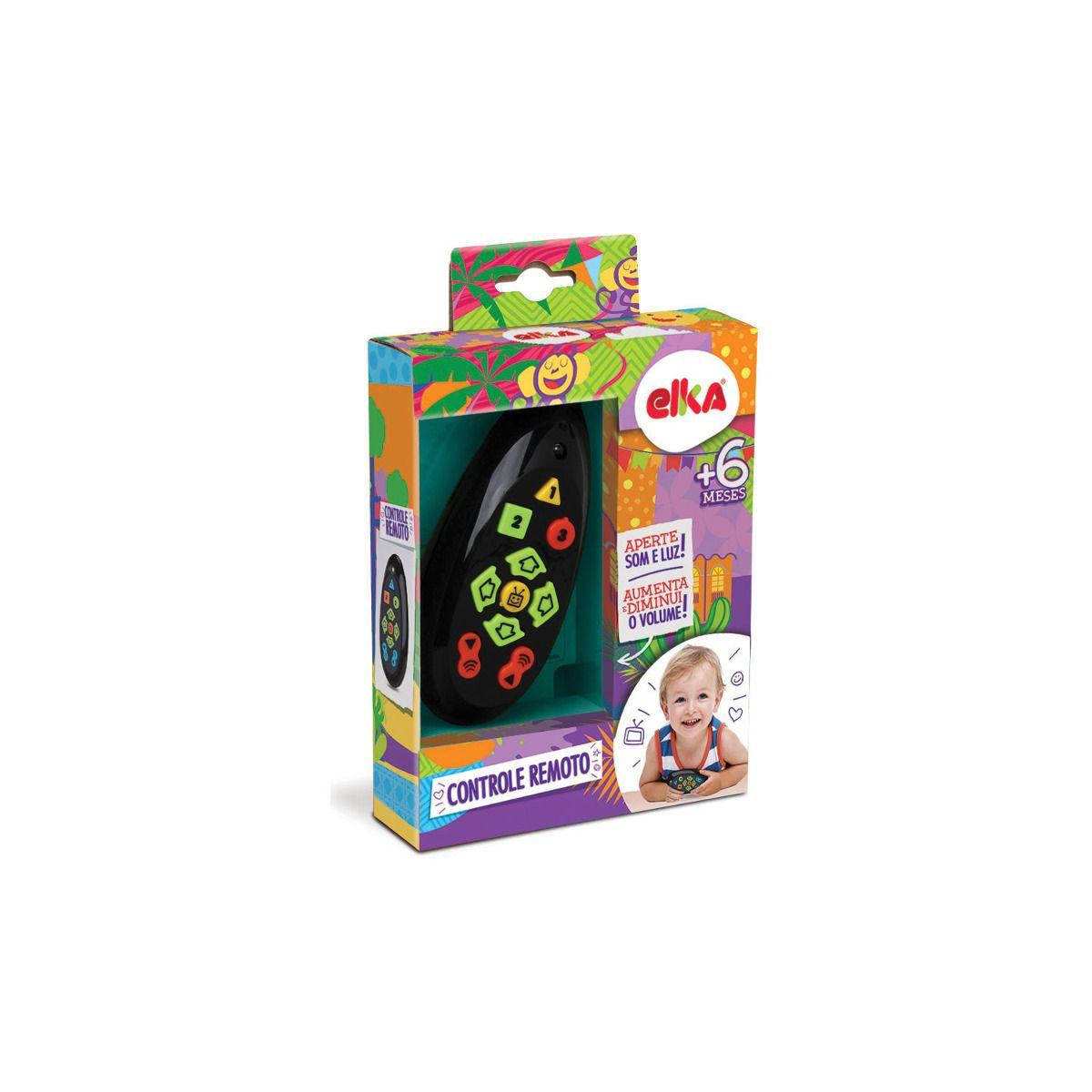 Brinquedo para Bebe Controle Remoto com Sons 728 Elka