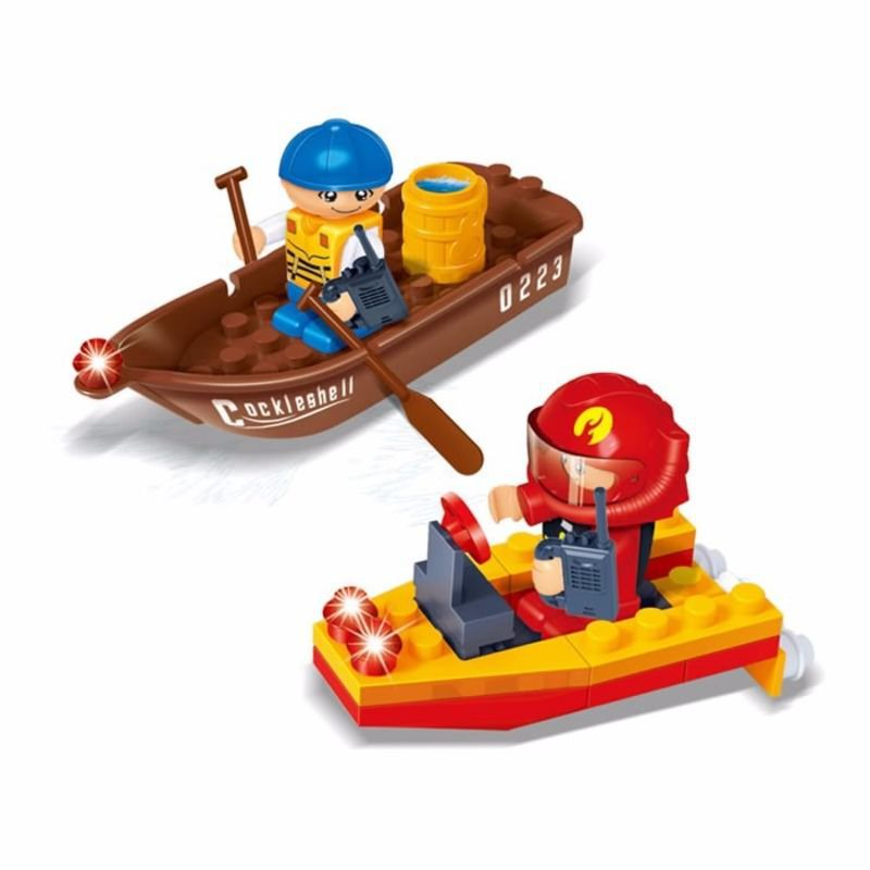 Brinquedo Para Montar Fire Banbao
