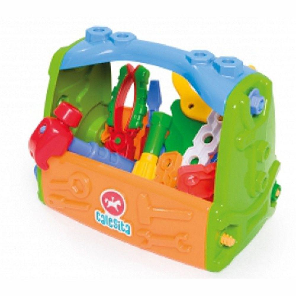 Caixa de Ferramentas Infantil Brincando de Profissões Calesita