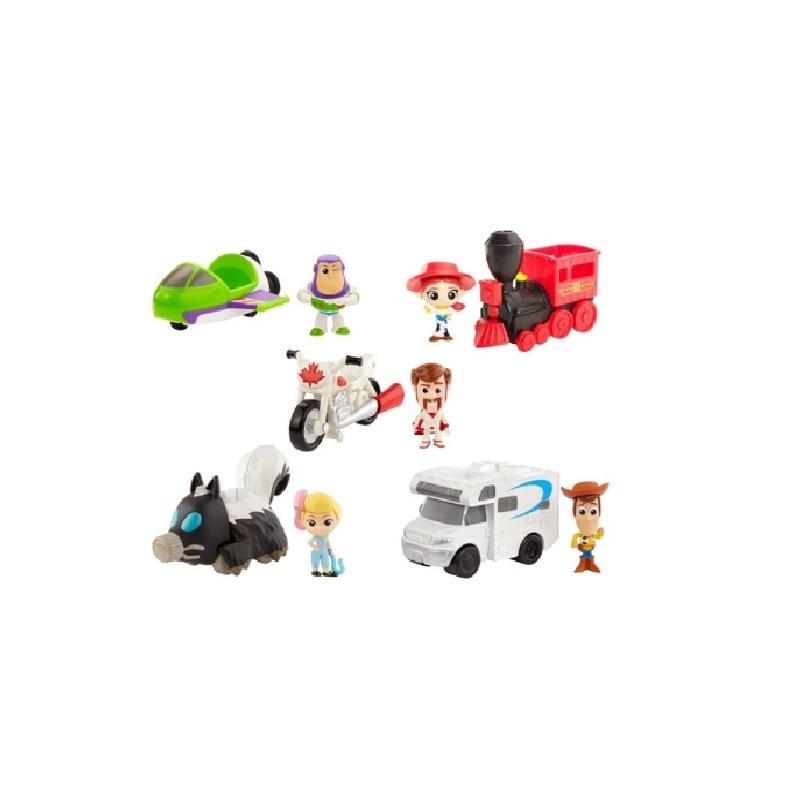 Carrinho de Brinquedo Toy Story 4 Mini Veiculos Sortidos Mattel