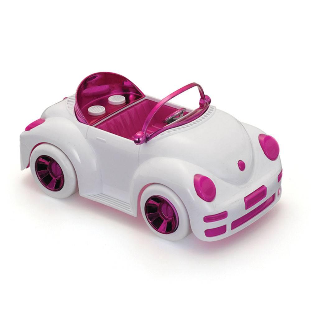 Carrinho Fusca Conversivel girls power car Monte Libano