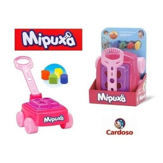 Carrinho Infantil Mipuxa Brinquedo Divertido com blocos de encaixar