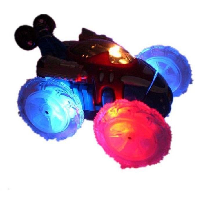 Carro Controle Remoto Stunt Gira 360 graus com Luz