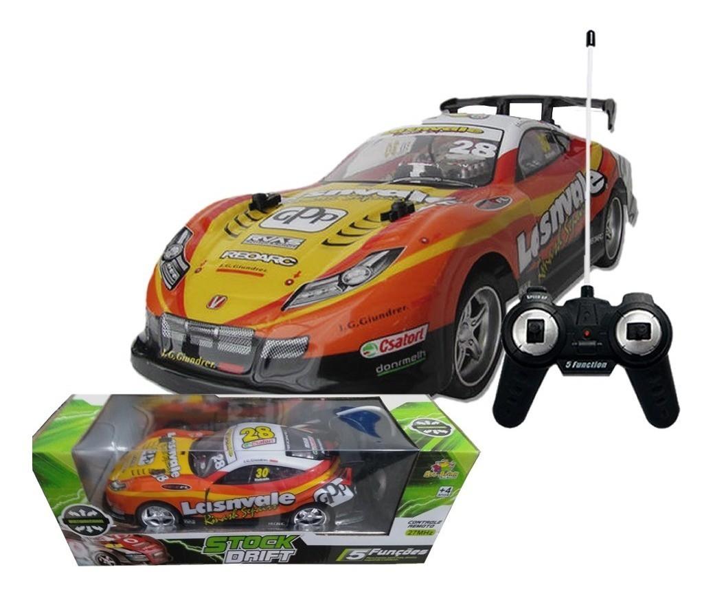 Carro de Controle Remoto Stock Drift 5 Funções Art Brink