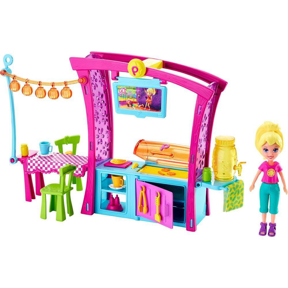 Churrasco Divertido da Polly Pocket Mattel