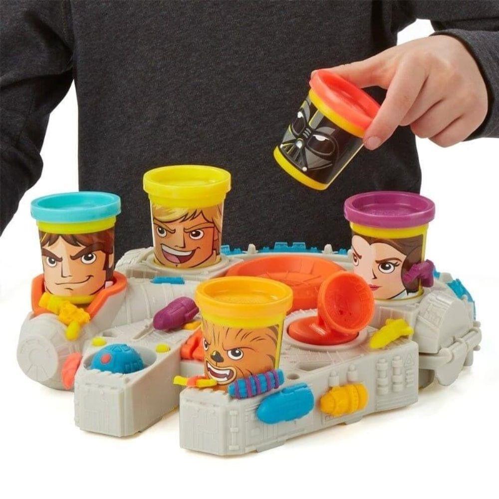 Conjunto de Massinha Play-Doh Star Wars Millenium Hasbro