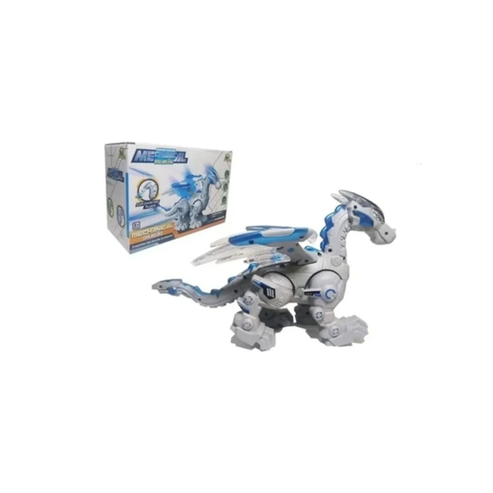 Dragao Robo Mechanical com Luz Som e Movimento Art Brink