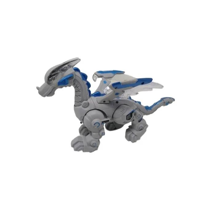 Dragao Robo Mechanical com Luz Som e Movimento Art Brink