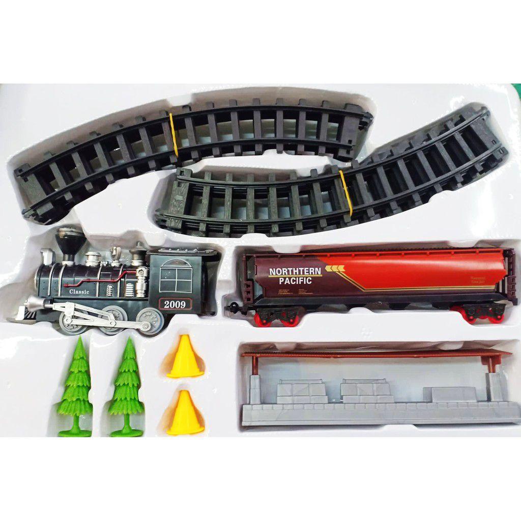 Ferrorama de Brinquedo Trem Classical 15 peças Luz e Som