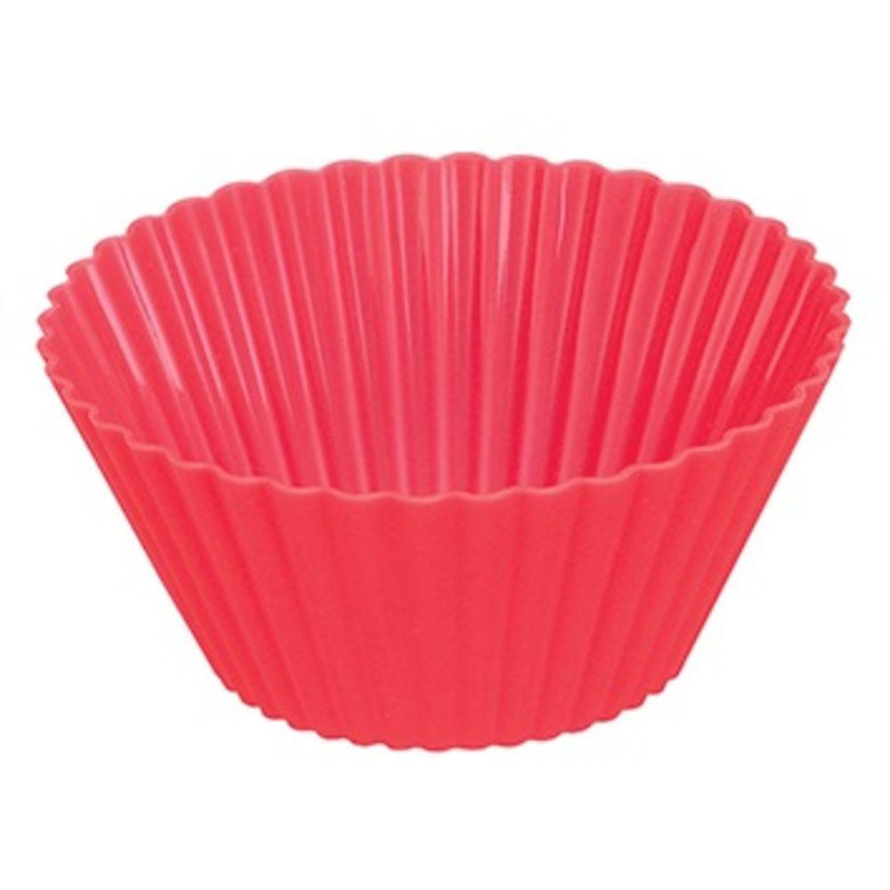 Formas De Silicone Para Cupcake Muffins Empadas Redonda Com 6 Formas Art House