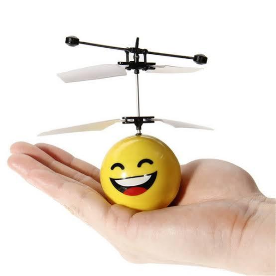 Helicóptero Brinquedo Por Indução Infravermelho controla pela Mão Smile Sortido