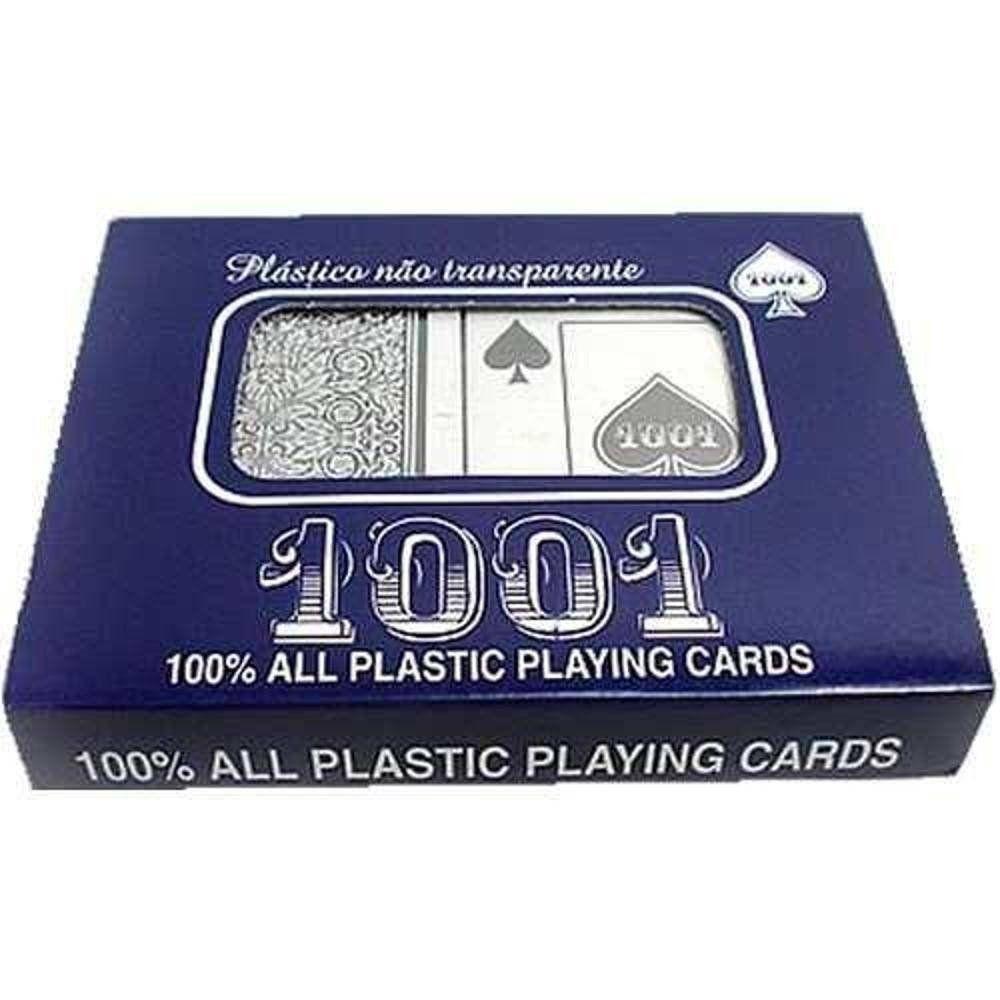 Jogo de Baralho 1001 Plastico Naipe Grande Copag