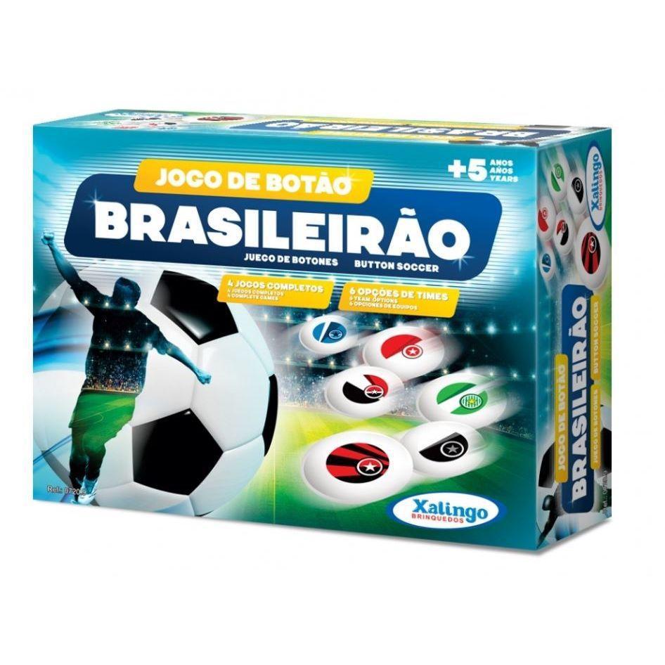 Jogo de Botão Brasileirão Xalingo