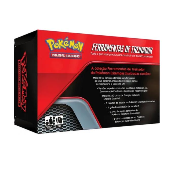 Jogo de Cartas Pokemon Ferramentas de Treinador Copag