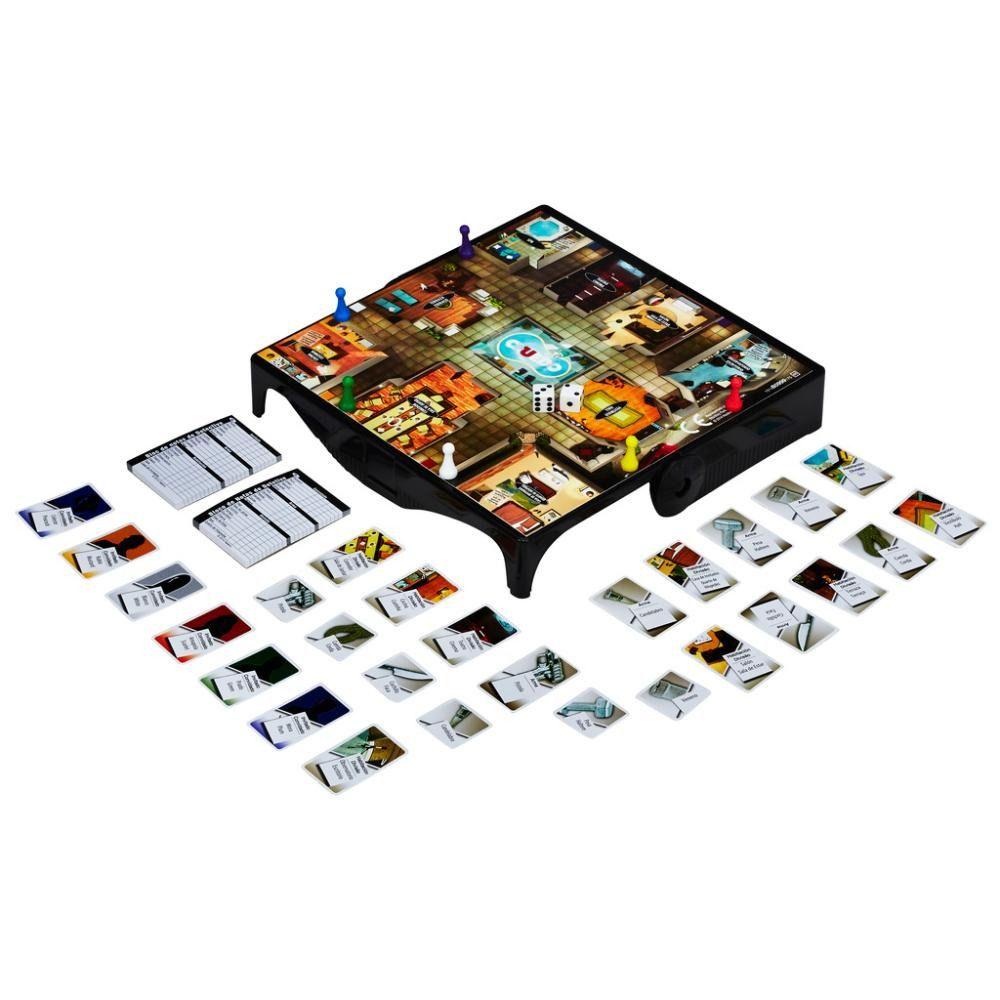 Jogo de Tabuleiro Clue Grab e Go Hasbro