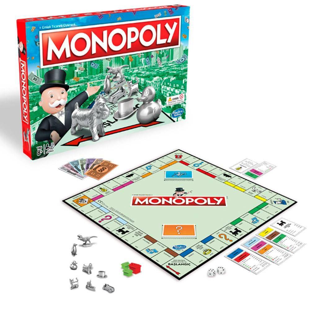 Jogo de Tabuleiro Monopoly Novos Tokens Hasbro