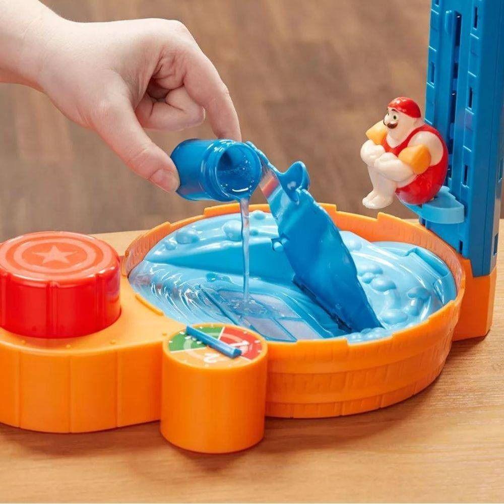 Jogo Espuma Boom Brinquedo Divertido Hasbro E1919