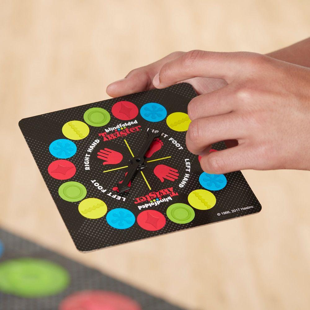 Jogo Twister no Escuro com Circulos Táteis Hasbro