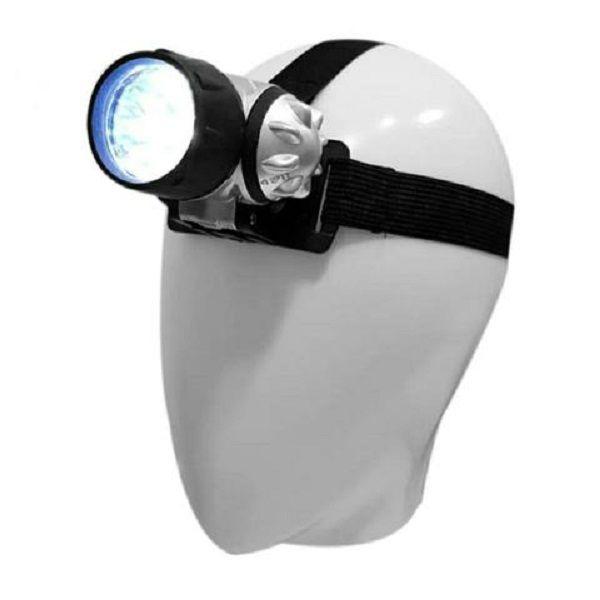 Lanterna Cabeça 7 Leds Alças Elasticas Esporte Abbmix