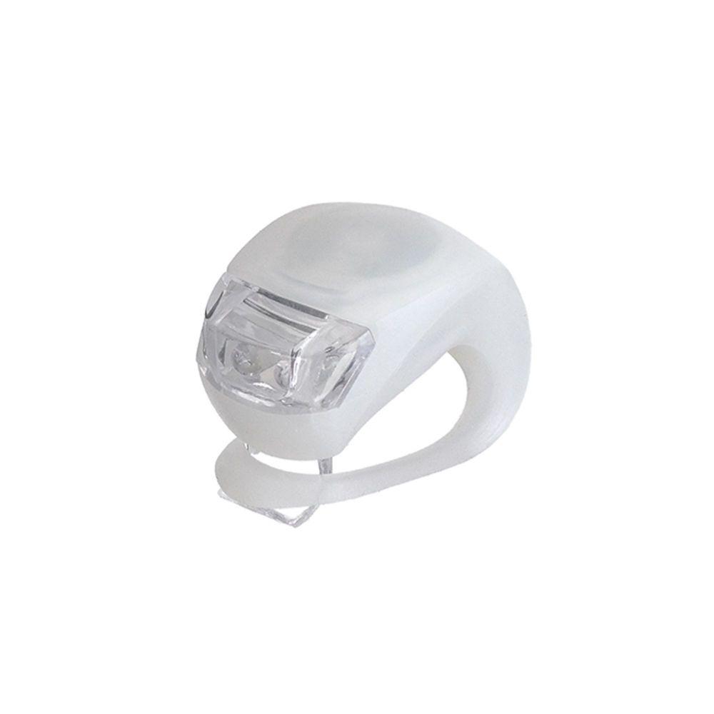 Lanterna Prendedor para Bicicleta 02 Unidades de Silicone Art Sport