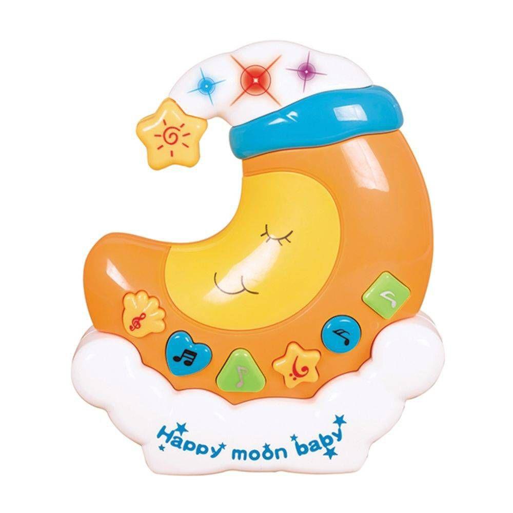 Lua Musical Infantil Brinquedo com efeitos sonoros música e luz Art Brink