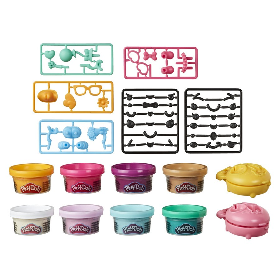 Massinha de Modelar 2 Mini Lanche Play Doh Treatsies Hasbro