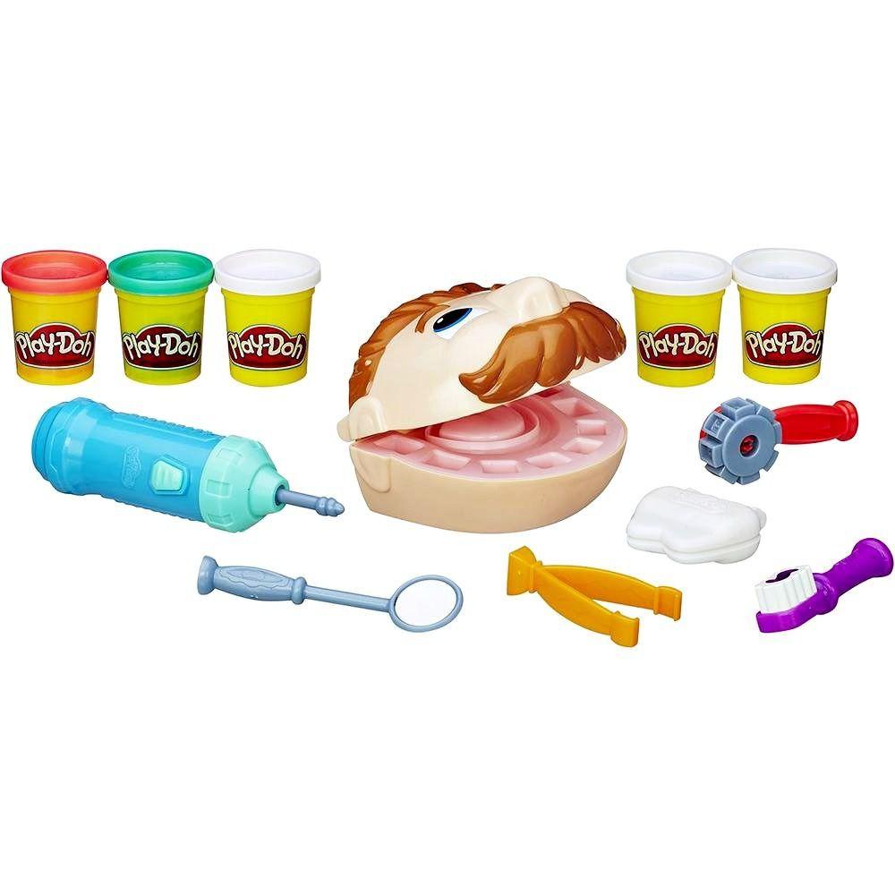 Massinha de Modelar Brincando de Dentista Play-Doh