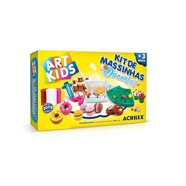 Massinha de Modelar Criativa Art Kids Doceria ref 40055 Acrilex