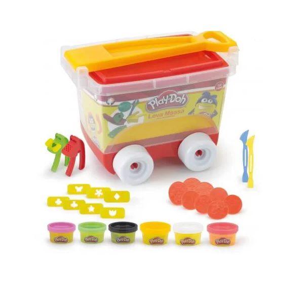 Massinha de Modelar Criativa Play-doh com Carro Leva Massa Monte Libano