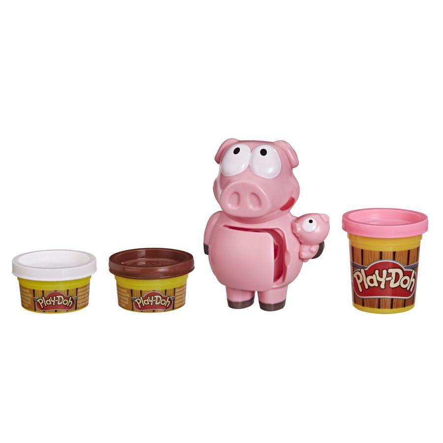 Massinha de Modelar Fazenda Porquinhos Travessos Play Doh Hasbro