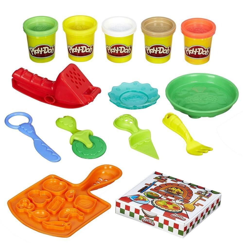 Massinha de Modelar Festa da Pizza Play Doh