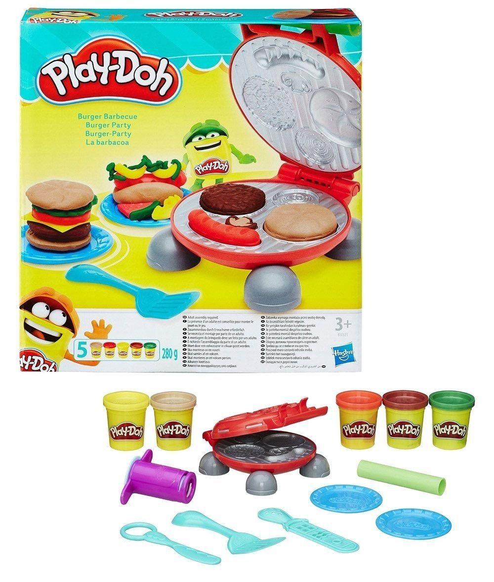 Massinha De Modelar Festa Do Hambúrguer Play Doh