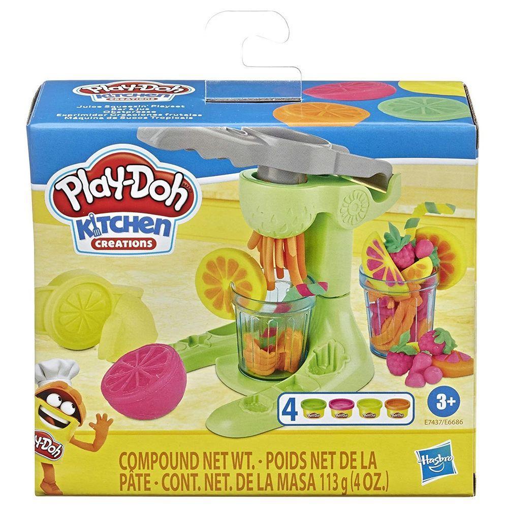 Massinha de Modelar Kitchen Creations Máquina de Sucos Tropicais PlayDoh