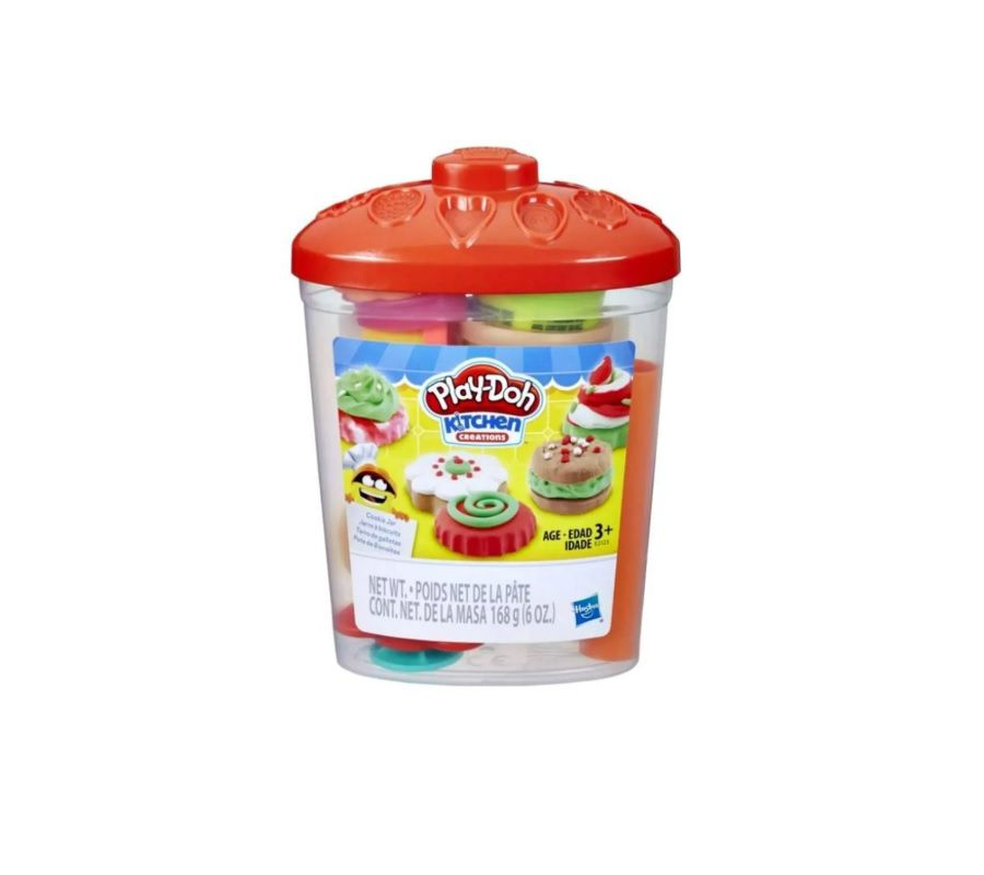 Massinha de Modelar Kitchen Creations Pote de Biscoitos Play Doh