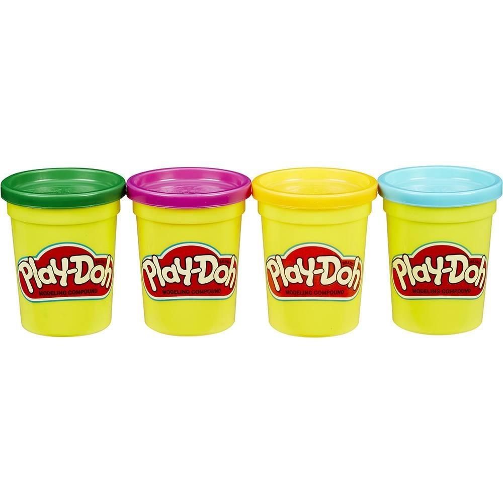 Massinha de Modelar Play-Doh com 4 Potes Hasbro