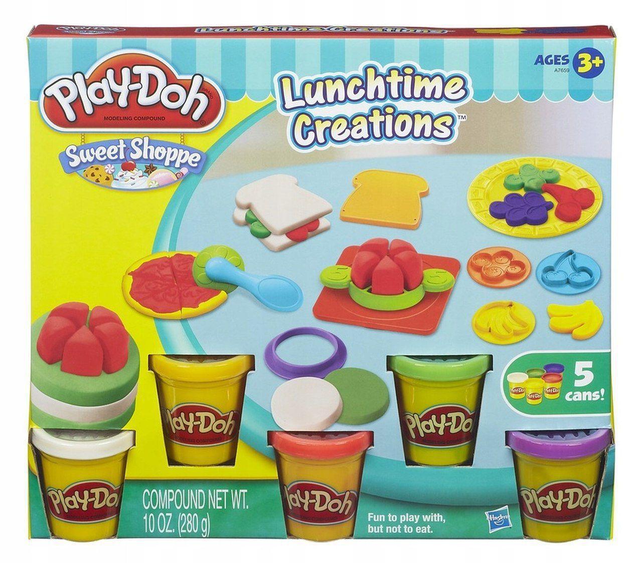 Massinha de Modelar Play Doh Hora do Almoço Hasbro