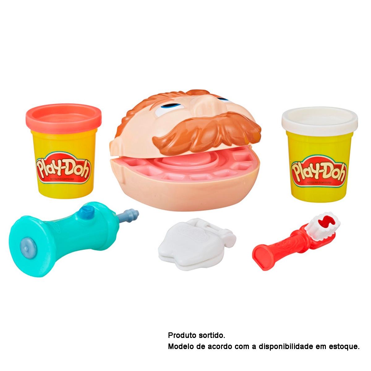 Massinha de Modelar Play Doh Mini Kit Brincando de Dentista Hasbro