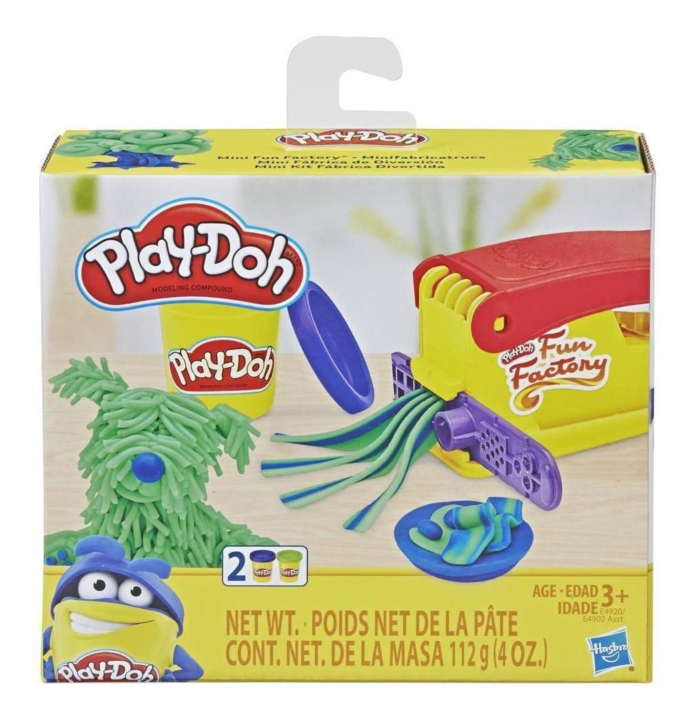 Massinha Mini Clássicos Kit Fabrica Divertida Play Doh