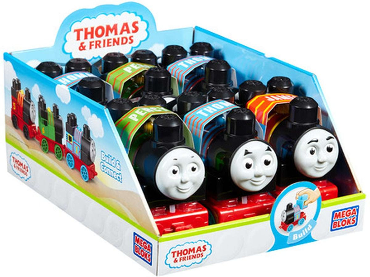 Mega Bloks Thomas e Friends Brinquedo de Montar Colecionavel Mattel