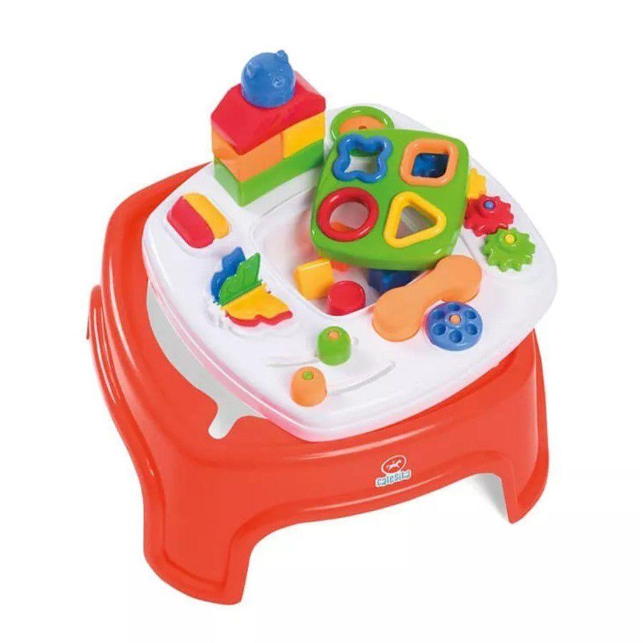 Mesinha Didática Encantada Calesita 800 Brinquedo Educativo