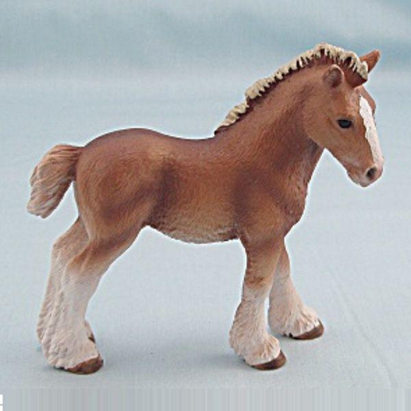 Miniatura de Potro Clydesdale Schleich 13671