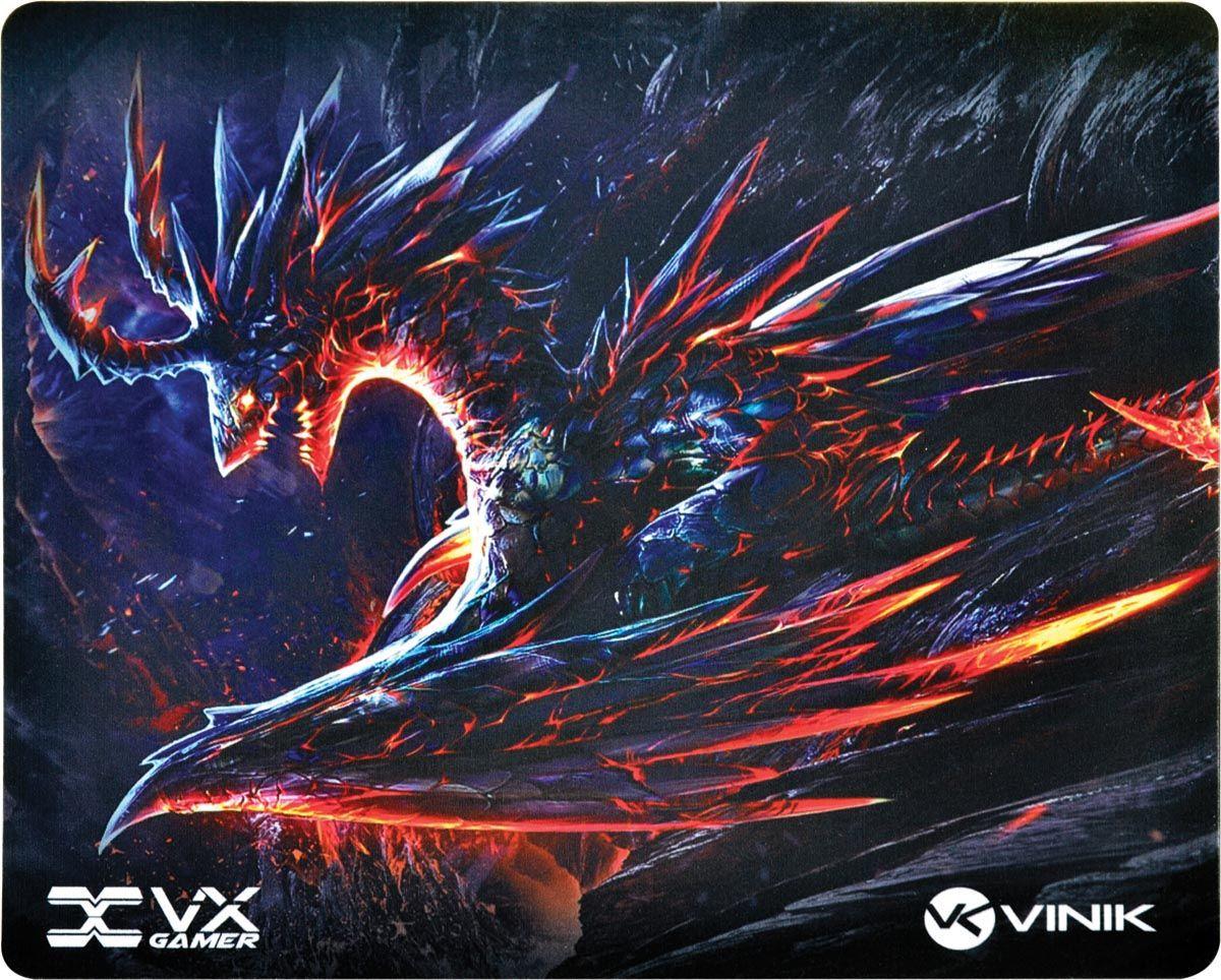 Mouse Pad Gamer VX Gaming Vinik Dragon 320X270X2MM