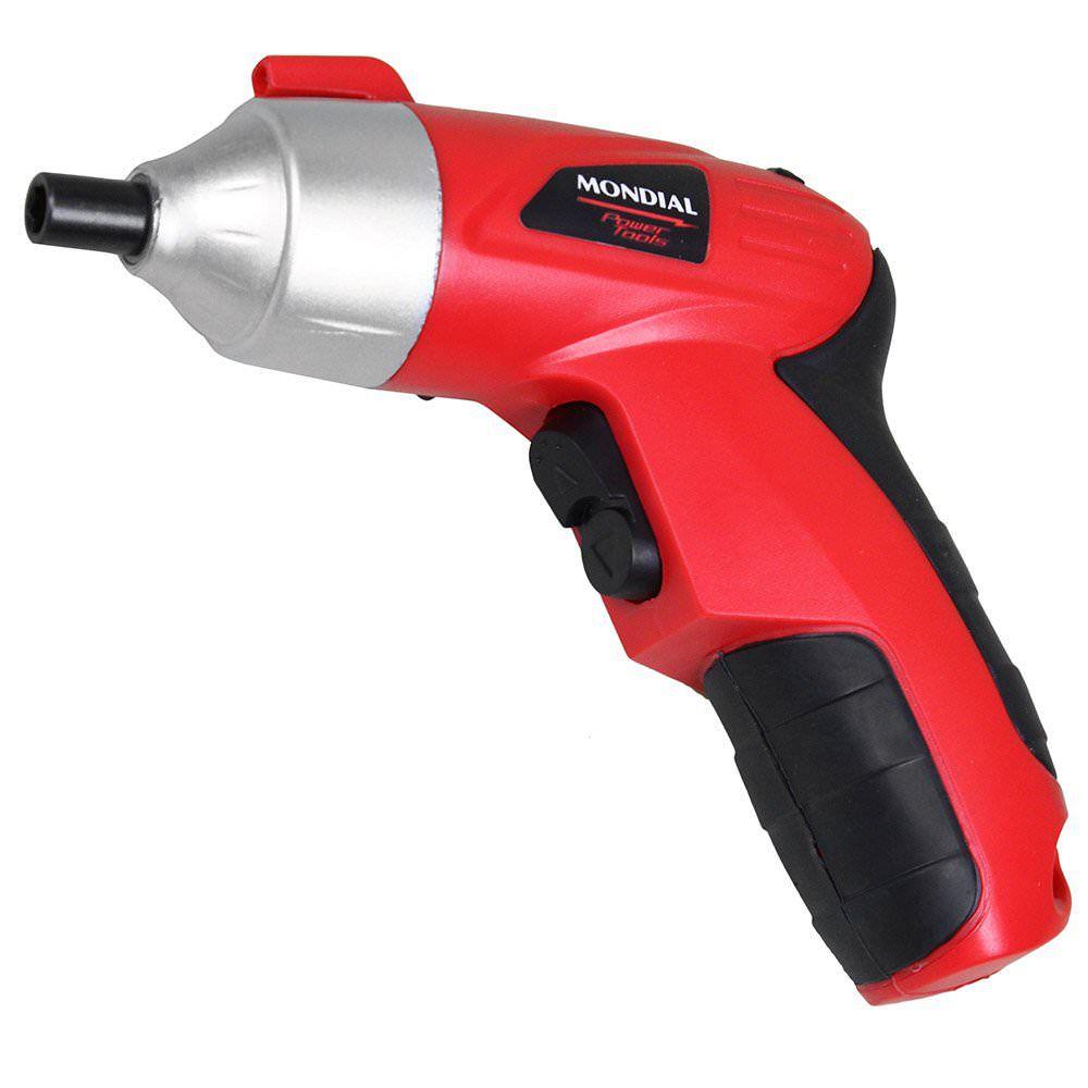 Parafusadeira Recarregável Power Tools 3,6 v Mondial  FPF-02