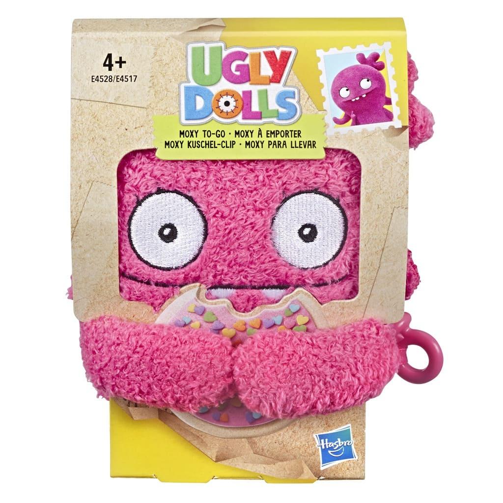 Pelúcia Chaveiro Ugly Dolls Moxy Hasbro